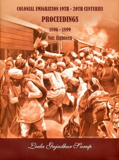 Colonial emigration 19th-20th centuries: proceedings, 1896-1899, Vol.XVIII,